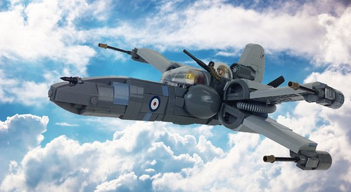 Imperial Axis Entry - Supermarine Spitfire Mk-X
