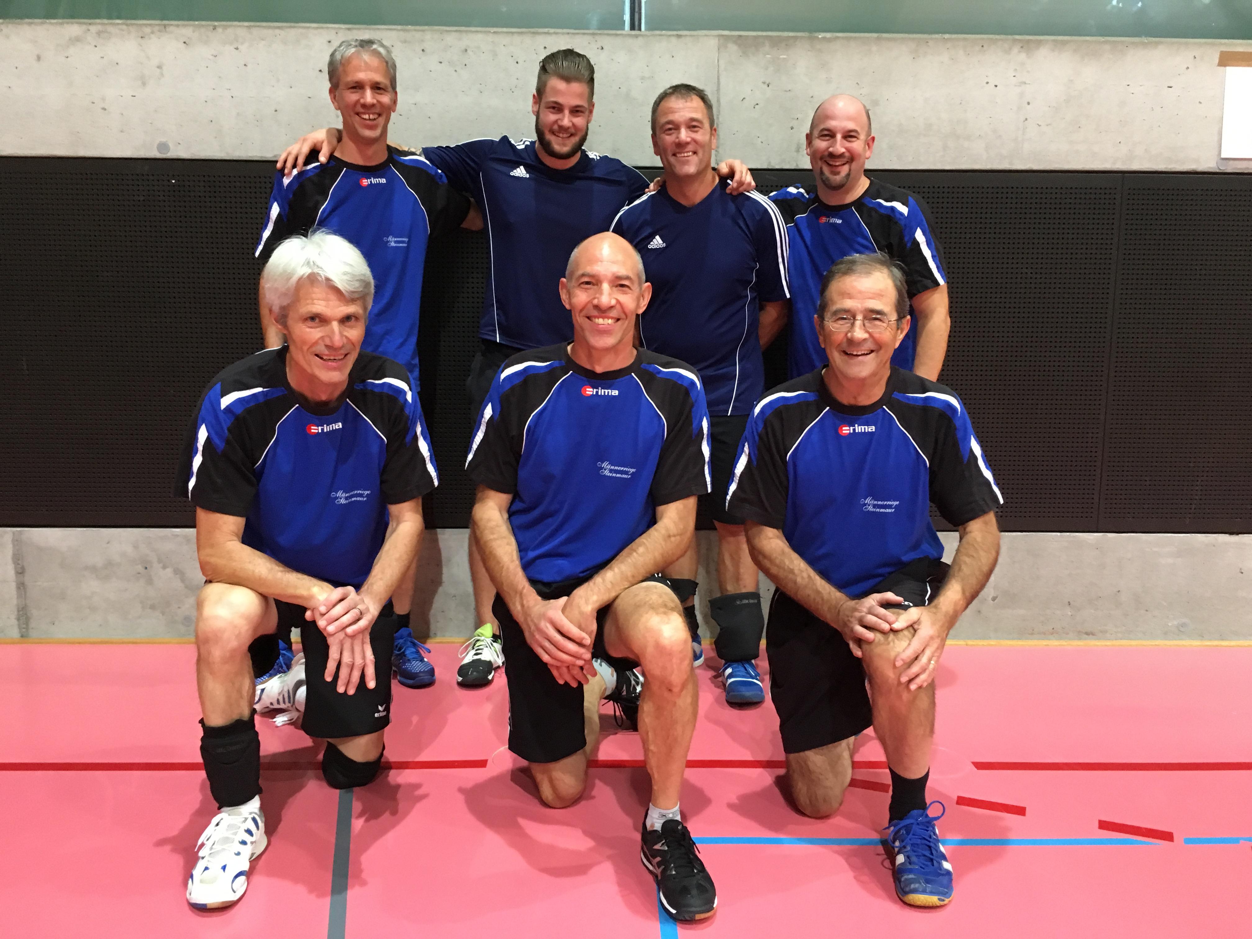 Plausch-Volleyballturnier Männedorf 28. Oktober. 2018