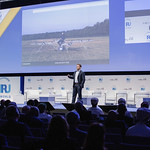 Fabien Nestmann during Plenary 3 session at IRU World Congress