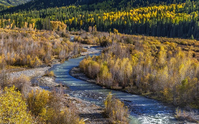 *Autumn in the Cimarron River valley*