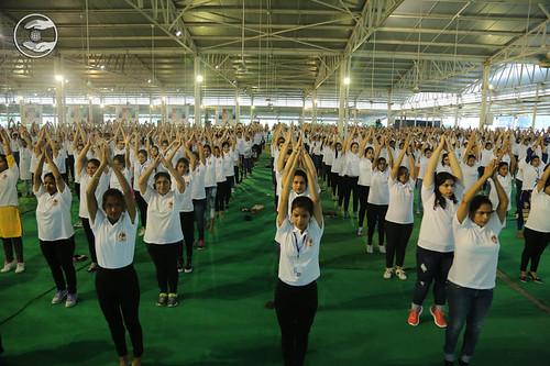 Physical exercise by participants