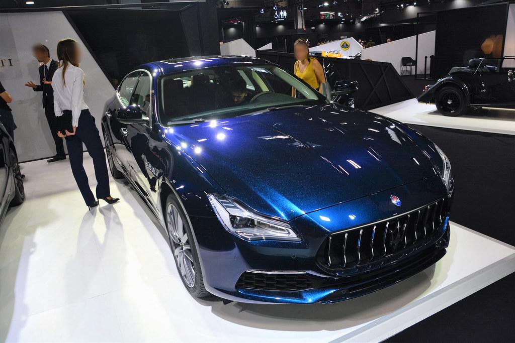 Maserati Quattroporte VI (Tipo M156, 2018) | Sixth generatio… | Flickr