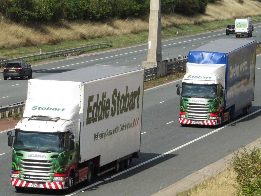 Eddie Stobart, Scania G410 (Keira Louise) & Scania R450 (J