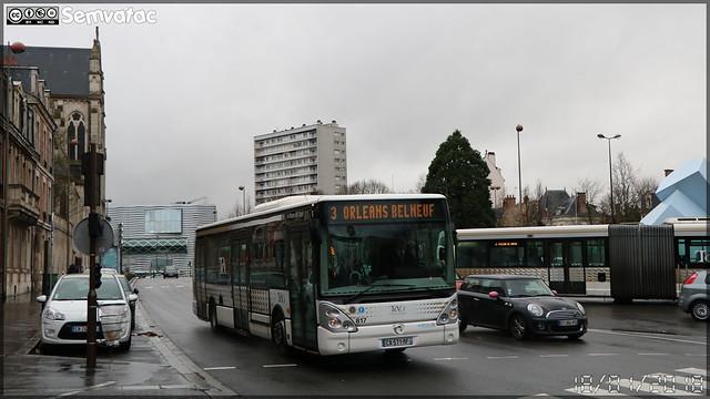 Irisbus Citélis 12 - Keolis Orléans Val de Loire / TAO (Transports de l'Agglomération Orléanaise) n°817