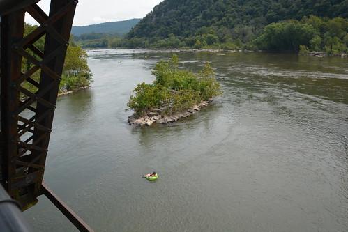 potomacriver westvirginia maryland shenandoahriver harpersferry tubing bridge water river nikon nikond7100