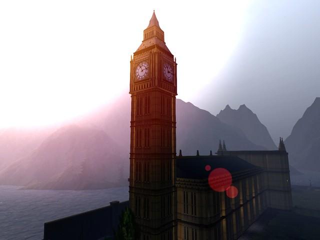 London Village - Guy Fawkes - The Clock Strikes Big Ben Too