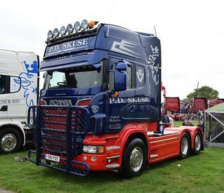 P D  Skuse Transport Scania R560 Topline V80 PDS | P D  Skus
