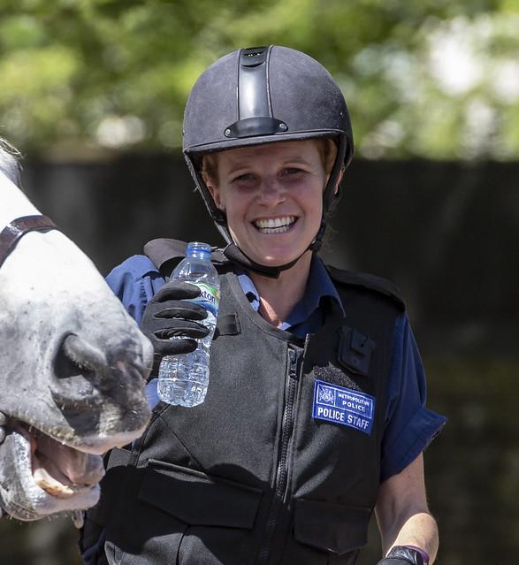 Mounted Metropolitan Police Staff, May 18