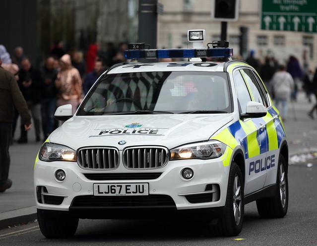 Merseyside Police BMW