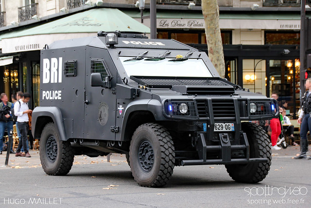 Police nationale | Panhard PVP