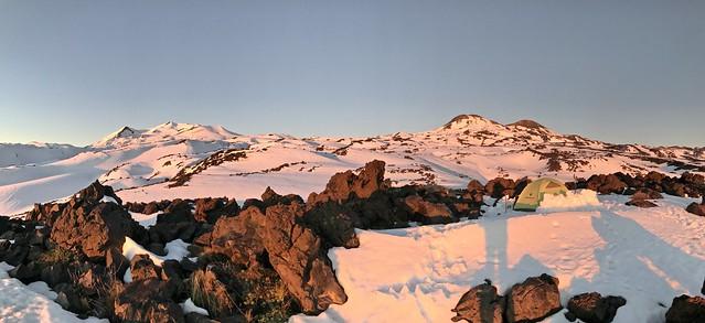 Atardecer Nevados de Chillán