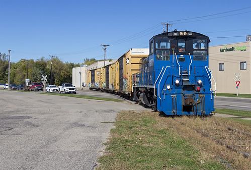 railroad emdmp15ac emd mp15ac gmtx303 progressiverail faribaultfoods faribualtmn