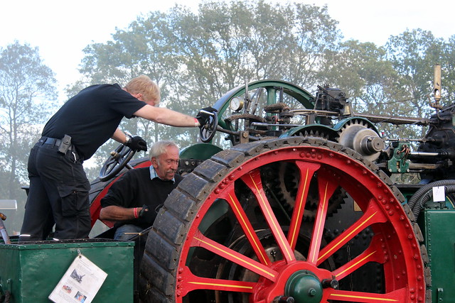 1918 Kemna steam tractor