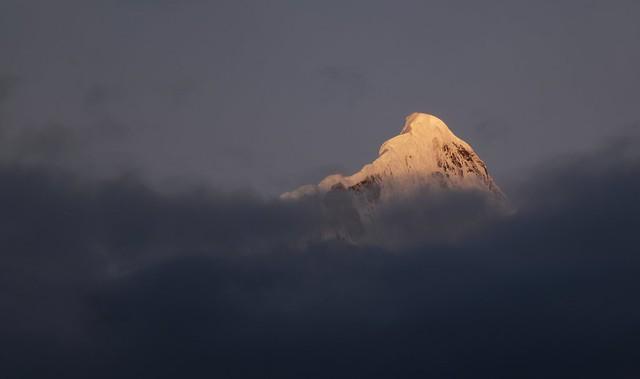 Sunrise over Mt Khawa Karpo, Tibet 2018