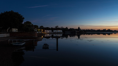 longexposure langstone langstoneoldmill theroyaloak bluehour sunrise
