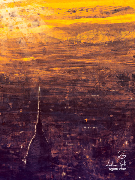 Orange Turin Aerial View