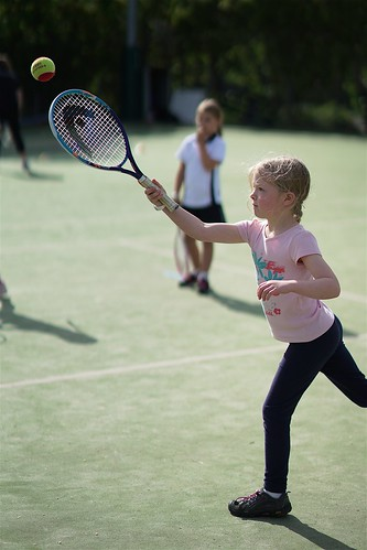 The tennis lesson | by Joe Lewit
