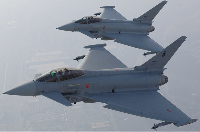 eurofighter sramble 36 stormo