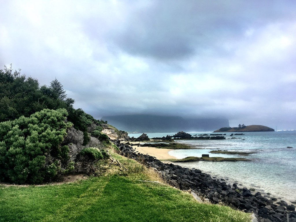 Lord Howe Island : View from the start of the jetty.