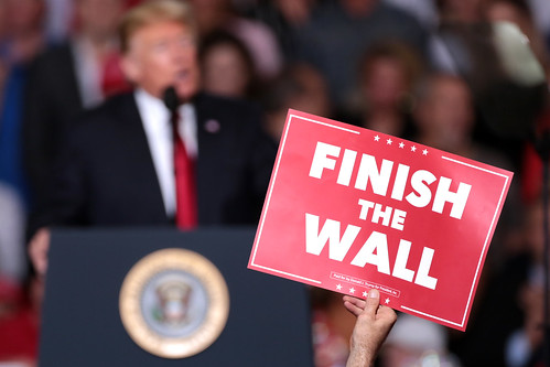 Finish the Wall sign | by Gage Skidmore
