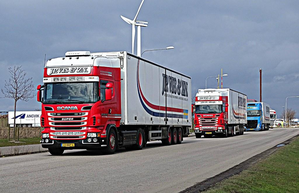 2x Scania R500 - JP. Vis & ZN & Volvo FH 540 (Performance Edition) - De Groot Haaksbergen
