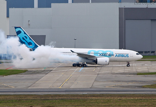 F-WTTO Airbus A330-800 1st engines run #2 | by @Eurospot