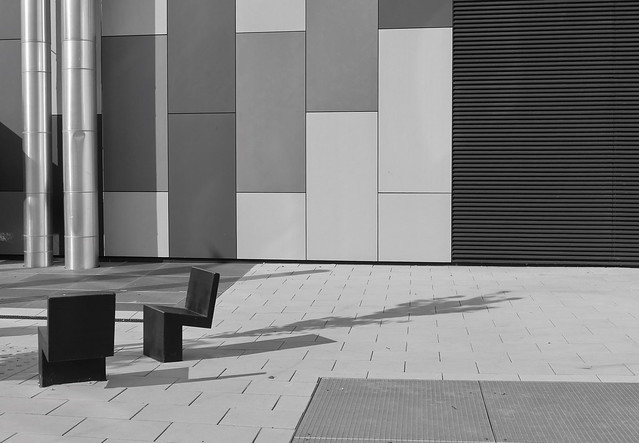 ... chairs and shadows ...