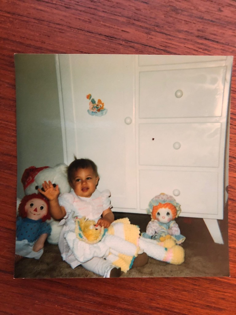 Baby Me with my nursery furniture