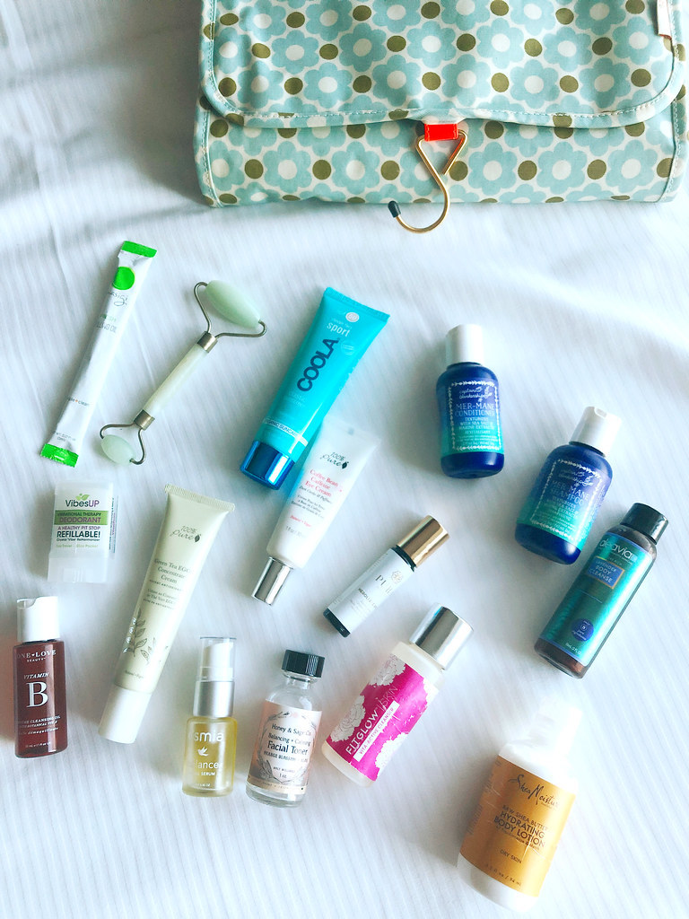 Green beauty for traveling
