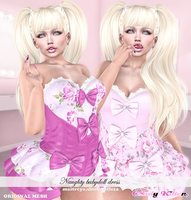 naughty babydoll dress at Sanarae