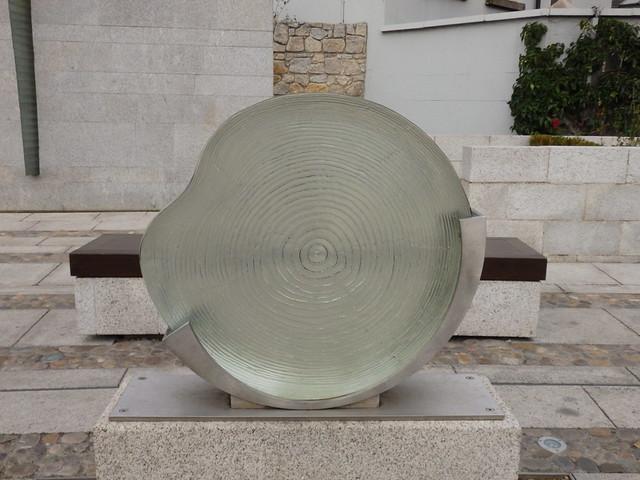Sculpture in the Garda Síochána Memorial Garden