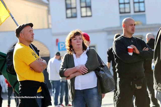 """29.09.2018 Köthen: Kundgebung """"Wir sind Köthen""""von Thügida/Wir lieben Sachsen"""
