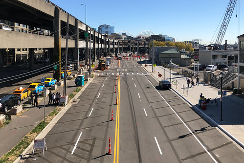 Getting ready for the Alaskan Way traffic switch | by WSDOT