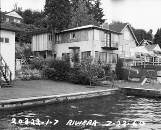 Houses on Riviera Place, 1960