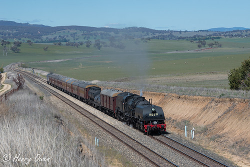 6029 ad60class garratt steamlocomotive steamtrain heritagetrain thnsw transportheritagensw passengertrain 6s67 raglan