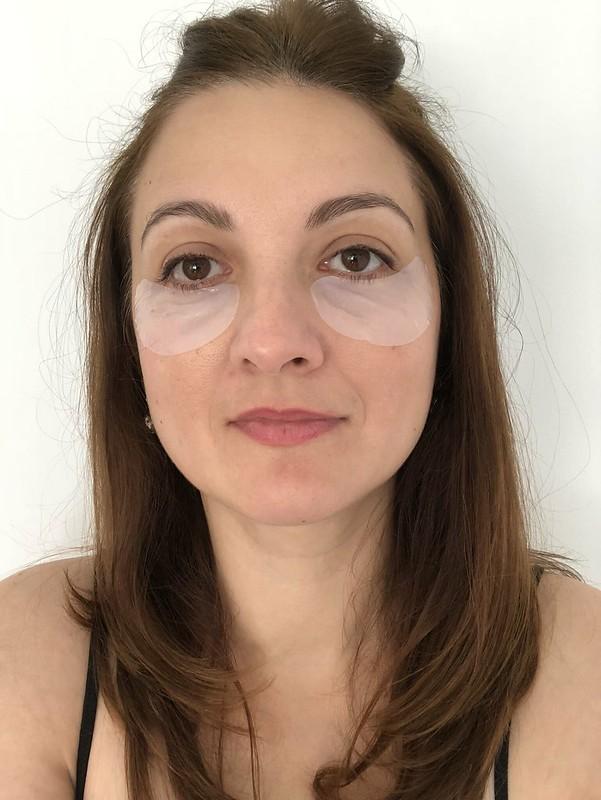 Anti-wrinkle eye sheet mask