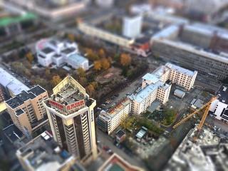 Yekaterinburg, Russia tiltshift