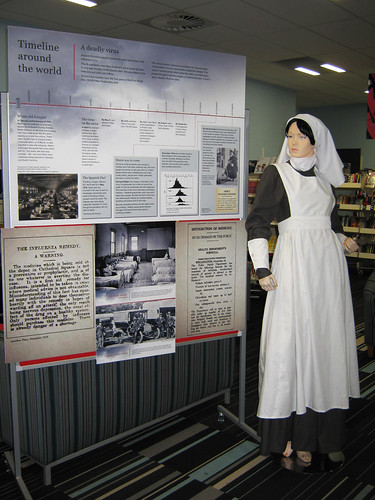 When Death Jumped Ship Exhibition, Papanui Library