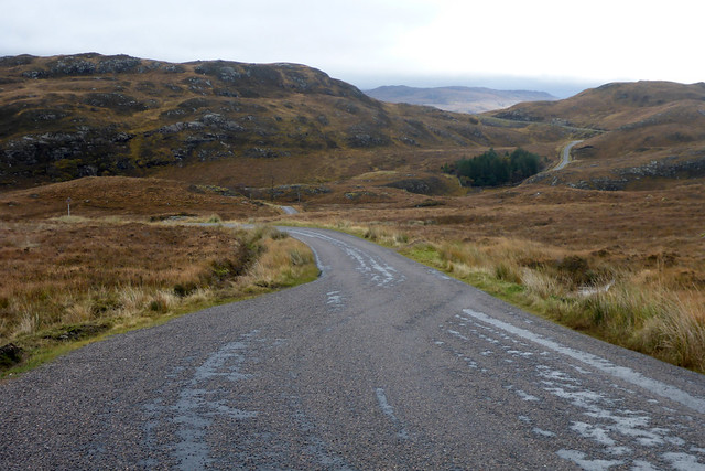 The B869 near Loch Nedd