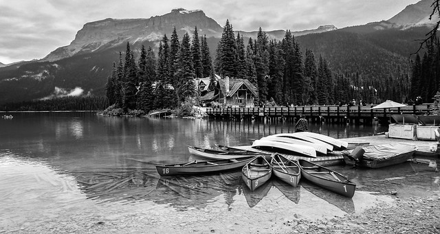 Emerald Lake, Yoho NP, Alberta