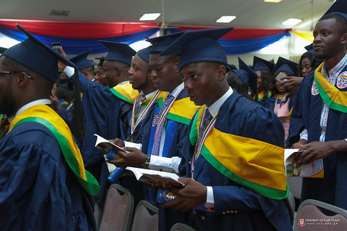 Cross section of graduands at the congregation