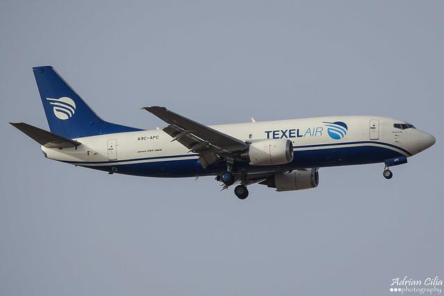 Texel Air --- Boeing 737-300F --- A9C-APC
