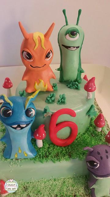 slugterra  cakeby creative Cake Art  28032030