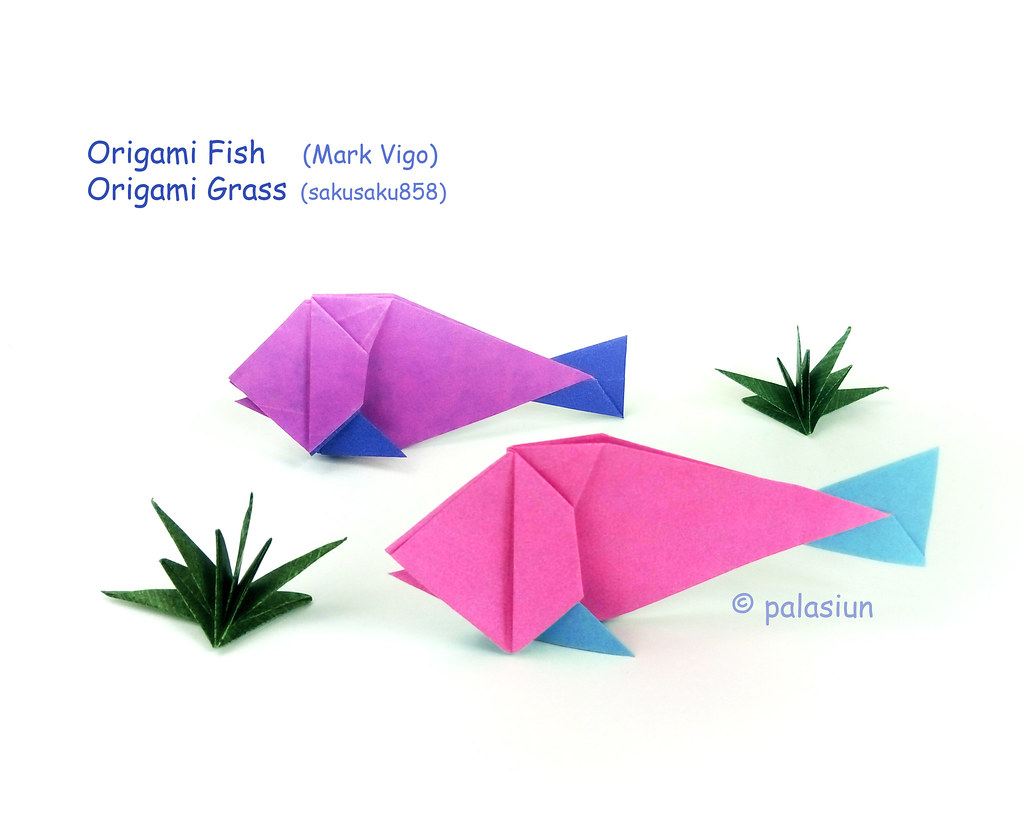 How to Make an Origami Fish Step by Step | 819x1023