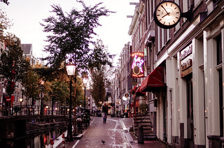 Amsterdam, Morning in the Red Light District | by Amsterdamming