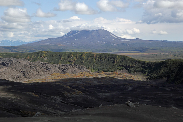 91. View Of Maly Semyachik Volcano 1560m, From The Base Of Karymsky Volcano, South Kamchatka, Russia