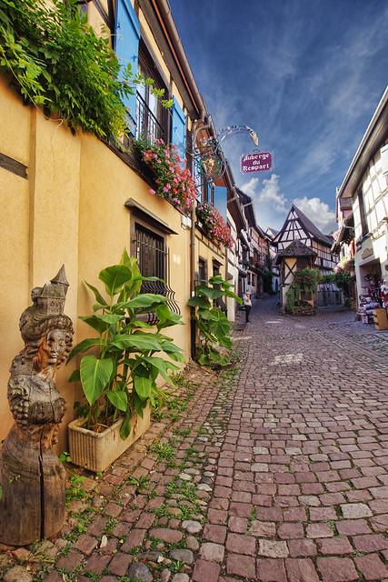 Eguisheim, Alsácia, Francia