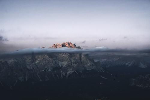 Underwater mountain