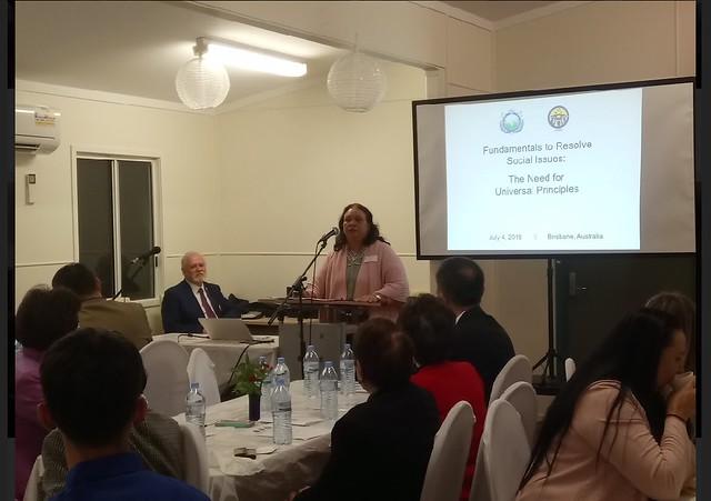 Australia-2018-07-04-Oceania Leadership Conference Convenes in Brisbane, Australia