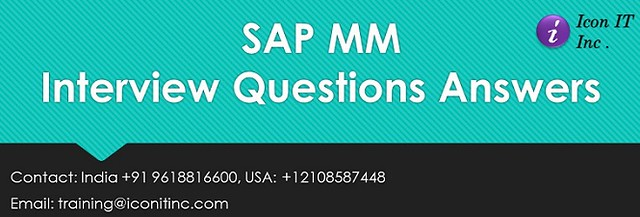 sap mm interview questions and answers